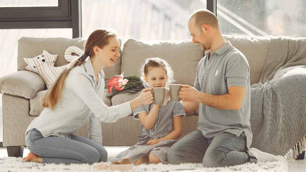 emotionally healthy child and parents